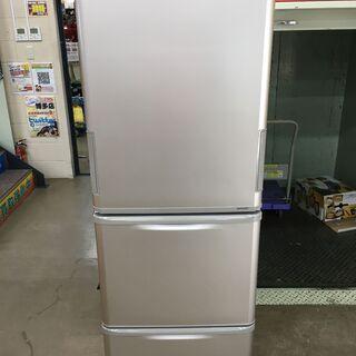 シャープ SJ-W352B-N 冷蔵庫 16年 中古