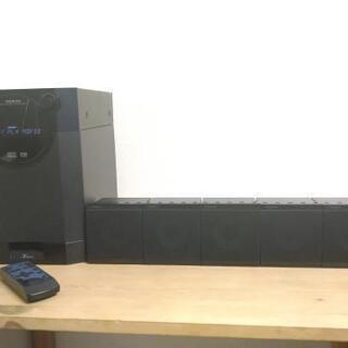 ONKYO デジタルシアターステーション 5.1 スピーカ…