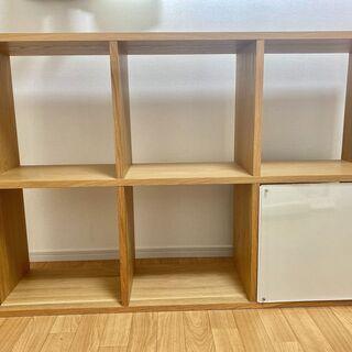 無印良品 棚 スタッキングシェルフ MUJI 3段×2列・…