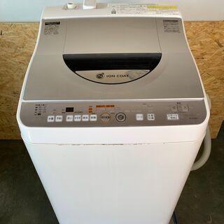 【SHARP】 シャープ 電気 洗濯機 乾燥機 Ag+イオンコー...