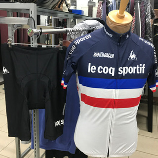 le coq sportrf ルコック Lサイズ サイクリ…