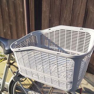 自転車 かご 荷台 バスケット