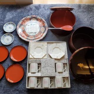 高級食器類(古伊万里、漆…)、おひつ、茶びつ