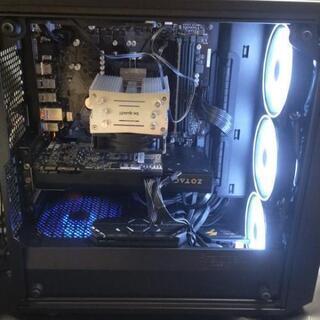 自作PC Ryzen2600 nvme500GB GTX7…