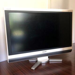 SHARP AQUOS 32インチ液晶テレビ 2009年製 差し...
