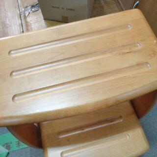 今だけチャンス!「ジモティー」見たよ!で通常特価5,478円より1,000円引きの4,478円! ペンギン 3段ステップチェア P-ST-3 木製 踏み台 折りたたみ 箱付き - 家具