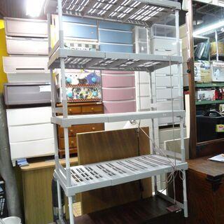押入れ収納 4段 重ね棚 布団収納 収納ラック プラスチック製