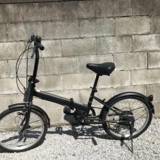 折り畳み自転車 20インチ ギア6段