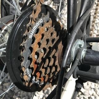 折り畳み自転車 20インチ ギア6段 - 売ります・あげます