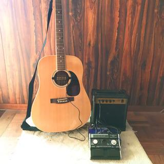 アコースティックギター エレアコ仕様 6点セット