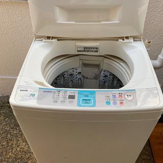 全自動洗濯機【SANYO】