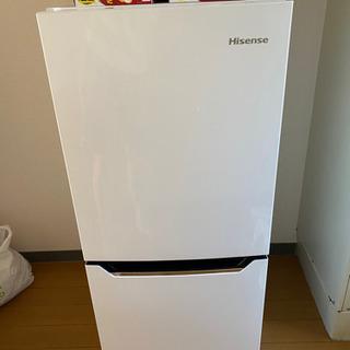 HiSense 2ドア冷凍冷蔵庫 HR-D1301(201…