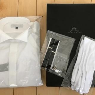結婚式 ウィングカラーシャツ シャツセット