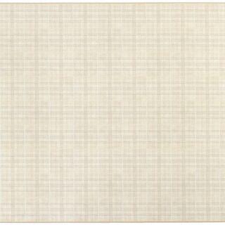 【ネット決済】➐クッションフロアラグ 柄 チェック 約185×3...