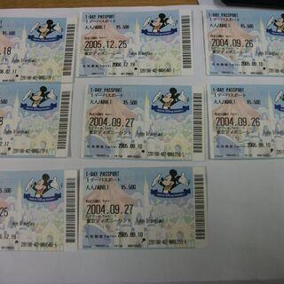 ディズニーランド 1デーパスポート 使用済みです。