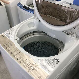 東芝7.0K洗濯機 2016年製 分解クリーニング済み!