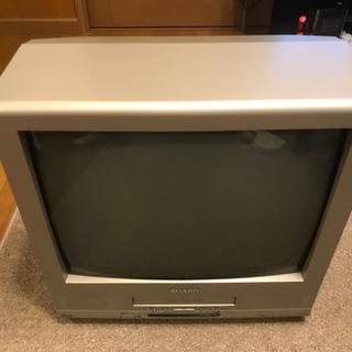 無料 カラーテレビデオ シャープ VT-21GH9