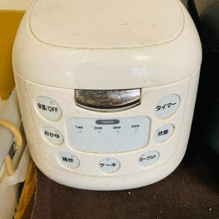 4合炊きの炊飯器!