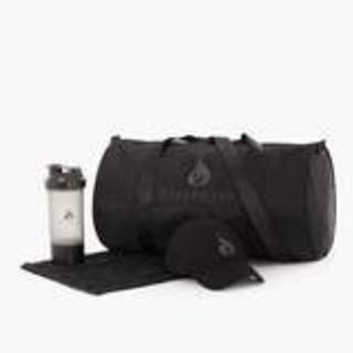 スポーツバッグとタオルのセット