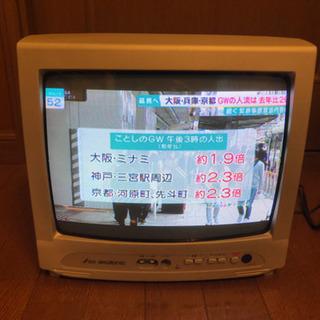無料 DXアンテナ 14型カラーテレビ TVD-1401