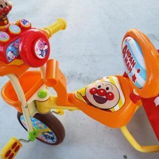 アンパンマン デラックス✩.*˚三輪車