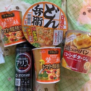カップ麺  エナジードリンク