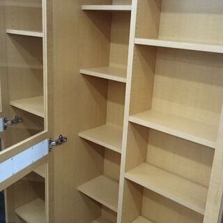 (120cm幅の)㈱アイランド スライド書棚 カオススライド 120H 高く買取るゾウ八幡東店 - 家具