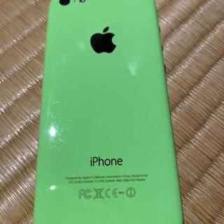 【ネット決済・配送可】au iPhone5c 32gb(送料込み...