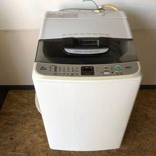 【SANYO】 サンヨー 全自動電気洗濯機 10kg ASW-E...