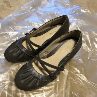 こげ茶の靴 23.5cm