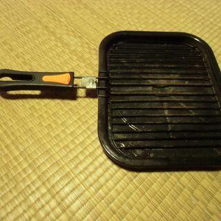 ●無料● 魚が焼ける IH対応 角型フライパン 差し上げま…
