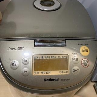 National 炊飯器 10合
