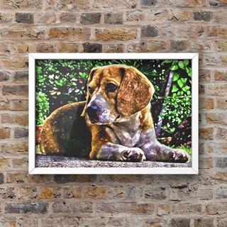 139 ワンちゃんポスター 犬のポスター