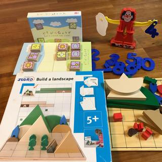 知育玩具 ボーネルンド JEGRO 3点セット