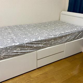 【ニトリ】シングルベッドフレーム(マットレス別)