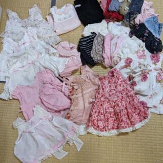 【ネット決済】子供服、女の子サイズ80まとめ売り2