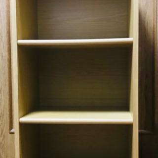 3段ボックス 木目調 差し上げます。