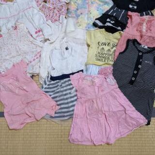 【ネット決済】子供服、女の子サイズ90まとめ売り