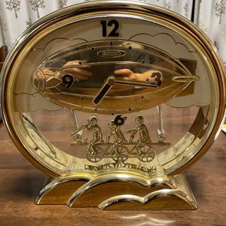 掛け時計にもなる置き時計
