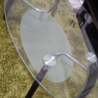 【譲ります】ガラスローテーブル