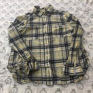 【中古】チェックシャツ フリーサイズ