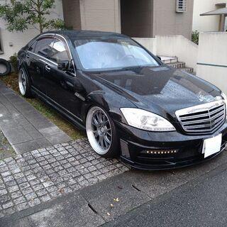 【ネット決済】ベンツW221 S550ロングWALD仕様 ...