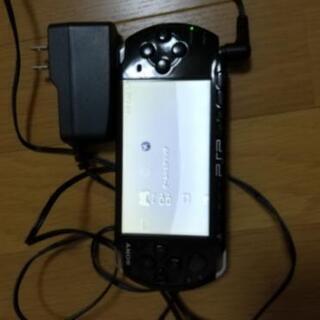 値下げしました!PSP メモリースティックduo付き 通電…