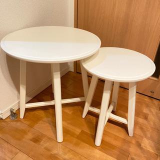 【ネット決済】IKEA コーヒーテーブル サイドテーブル セット