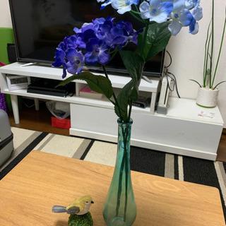 インテリア 小鳥 花器