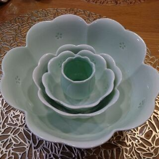 花 お皿セット