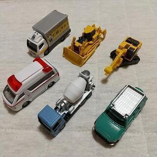 トミカ はたらく車6台
