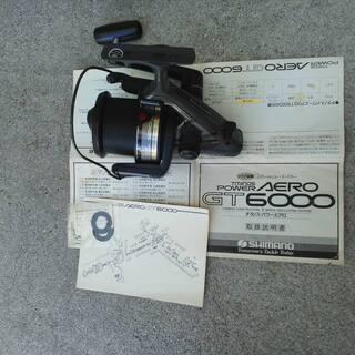 シマノリール パワーエアロGT6000