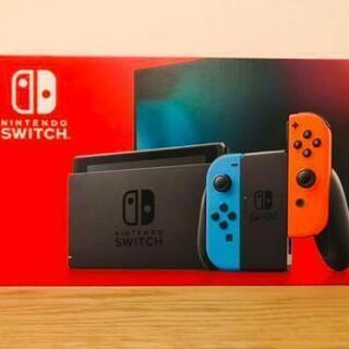 新品未開封品 Nintendo switch 本体 ネオン…