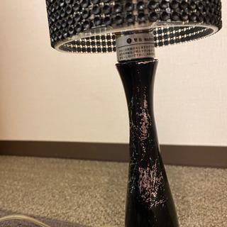 ディクラッセ 置き型照明 ブラック 使用感あり − 愛知県